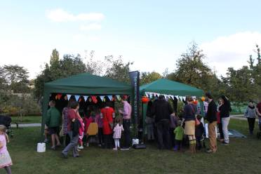 Community wildlife event stall