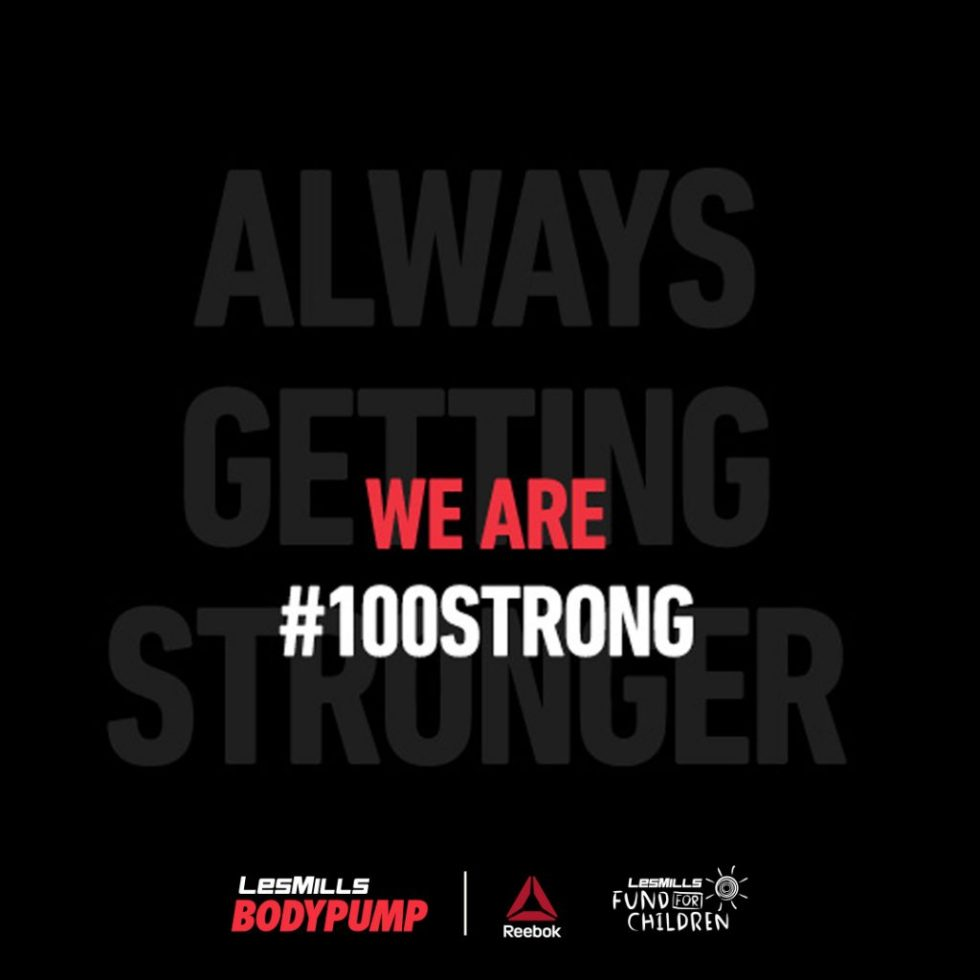 Be #100strong with Body Pump 100