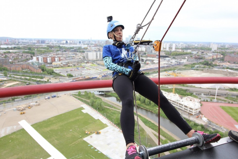 abseil for the animals