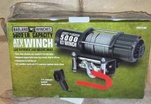 BadLands 5000lbs Winch installationreview