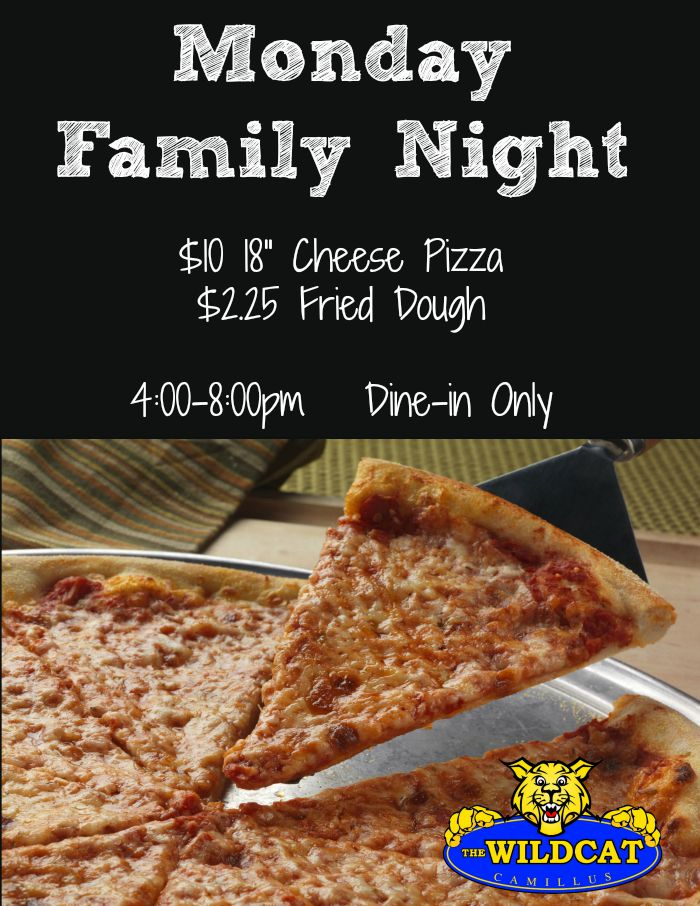 Family Night Flyer WC 700