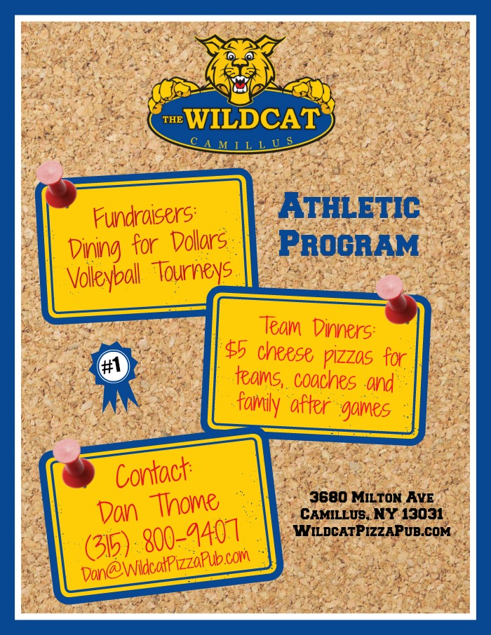 Wildcat Athletic flyer Updated 700
