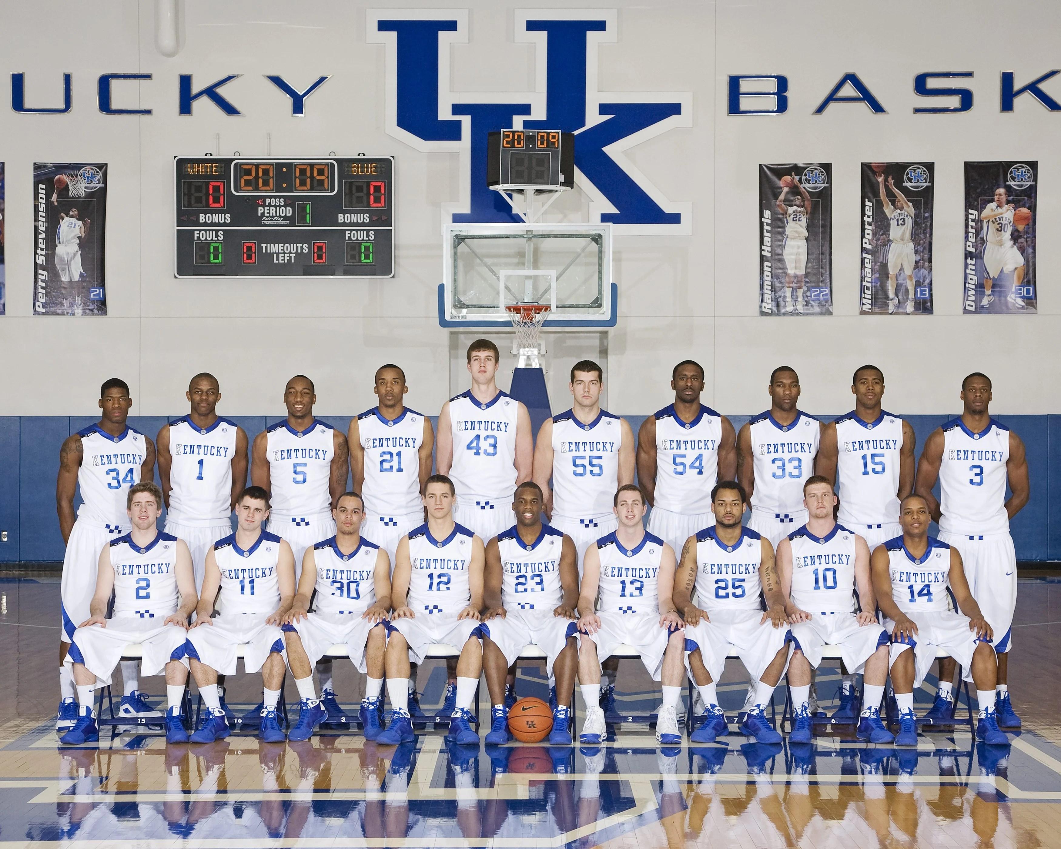 2013 2014 Kentucky Basketball Roster: 2008-2009 Kentucky Basketball Roster