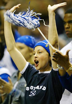 The biggest celebrity college sports fans from Kentucky