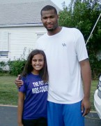 Demarcus Cousins and Olivia