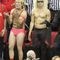 Photo: The most disturbing Georgia Bulldog fan ever