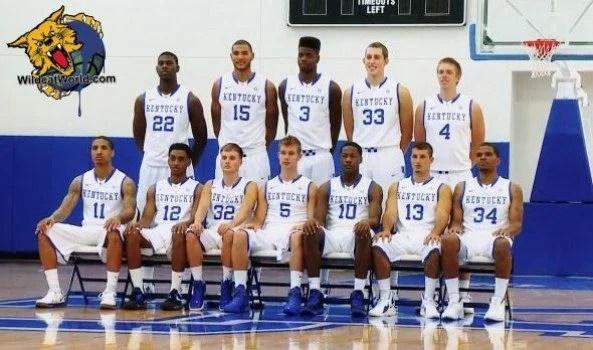2012-2013 Kentucky Wildcats Team Photo