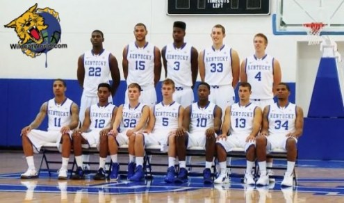2012-2013 Kentucky Wildcats Team Photo