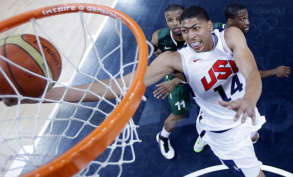 Anthony Davis - photo by Eric Gay | AFP/Getty Images