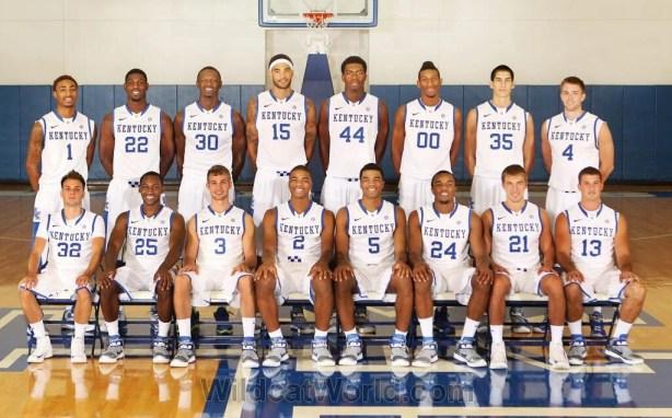 2013-2014 Kentucky Basketball Team