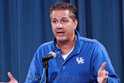 John Calipari - photo by Walter Cornett | WildcatWorld.com