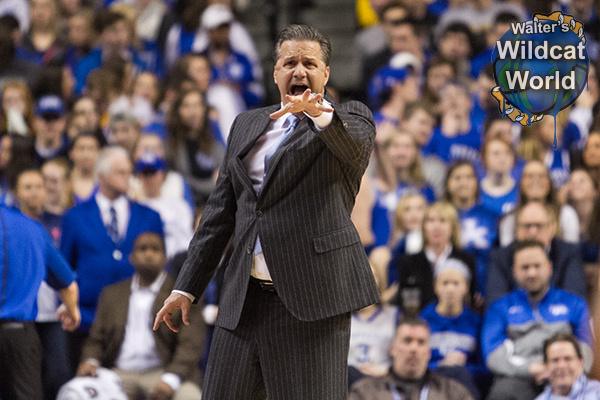 John Calipari - photo by Walter Cornett