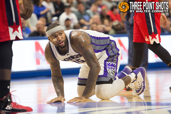 DeMarcus Cousins - photo by Walter Cornett