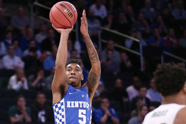 Malik Monk scores 47, hits key 3 as Kentucky tops North Carolina