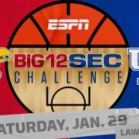 Kentucky Draws Kansas for Big 12/SEC Challenge