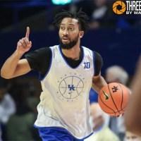 How does Davion Mintz fit in Kentucky's deep backcourt?