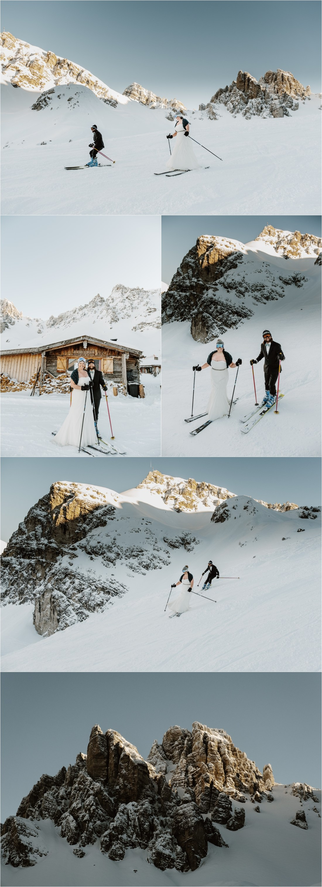 Ski wedding in Axamer Lizum Innsbruck by Wild Connections Photography