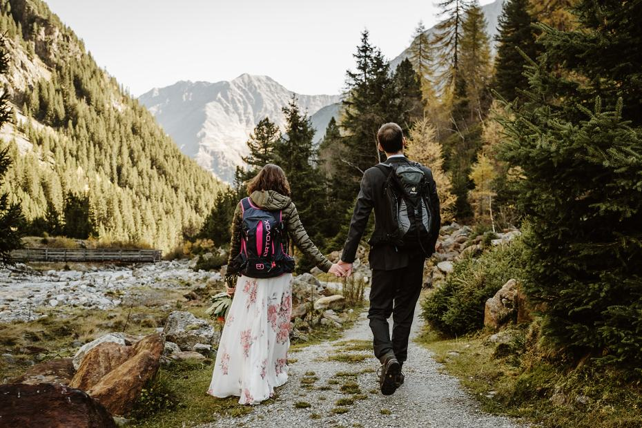 Hiking Elopement In Austria