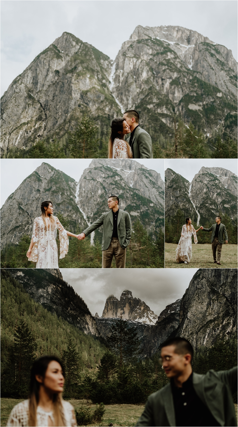 Adventure wedding photography in the Dolomites by Wild Connections Photography