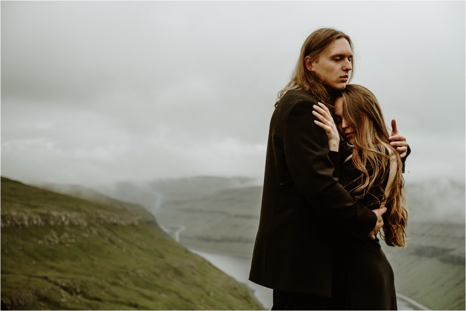 Faroe Islands Elopement Inspiration by Wild Connections Photography