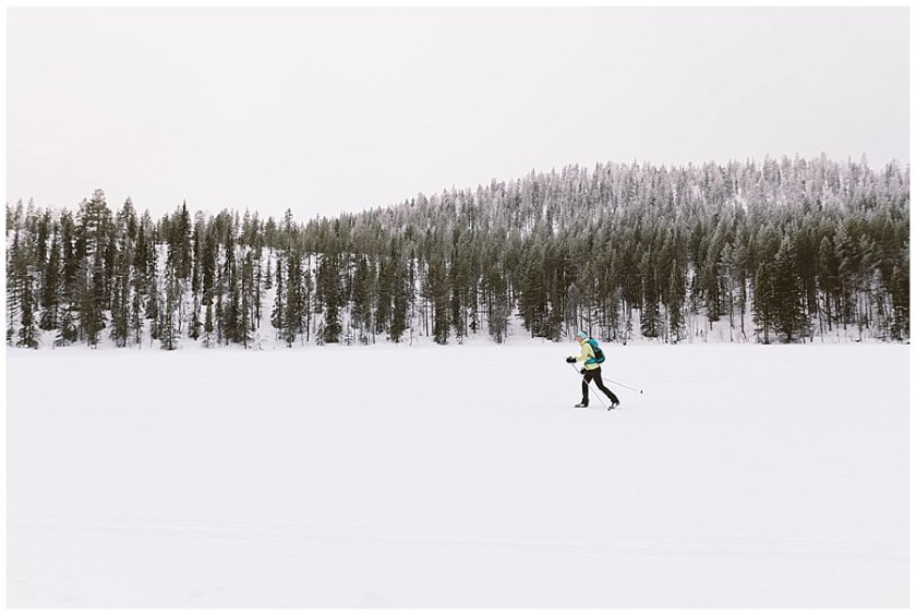 Cross Country Skiing Levi Finland