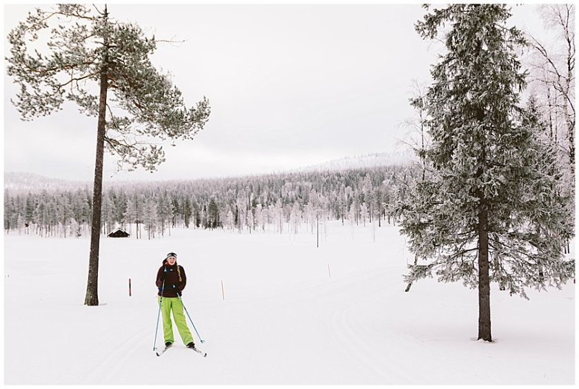 Cross Country Skiing Levi Lapland