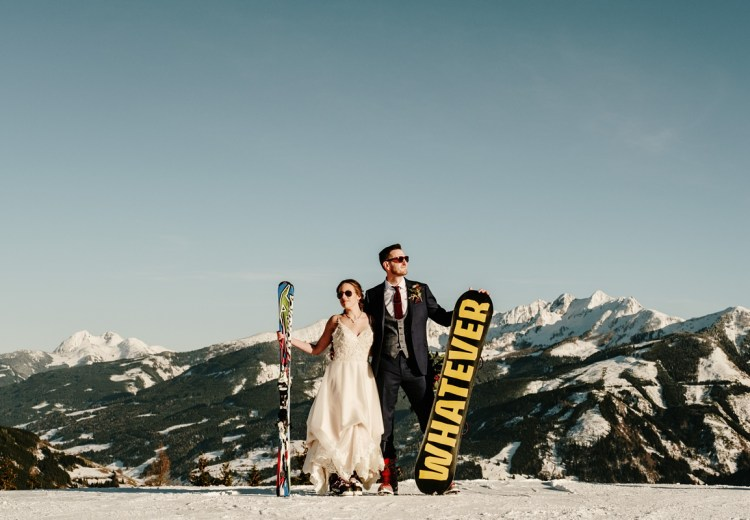 A Spring wedding in Zell Am See by Wild Connections Photography