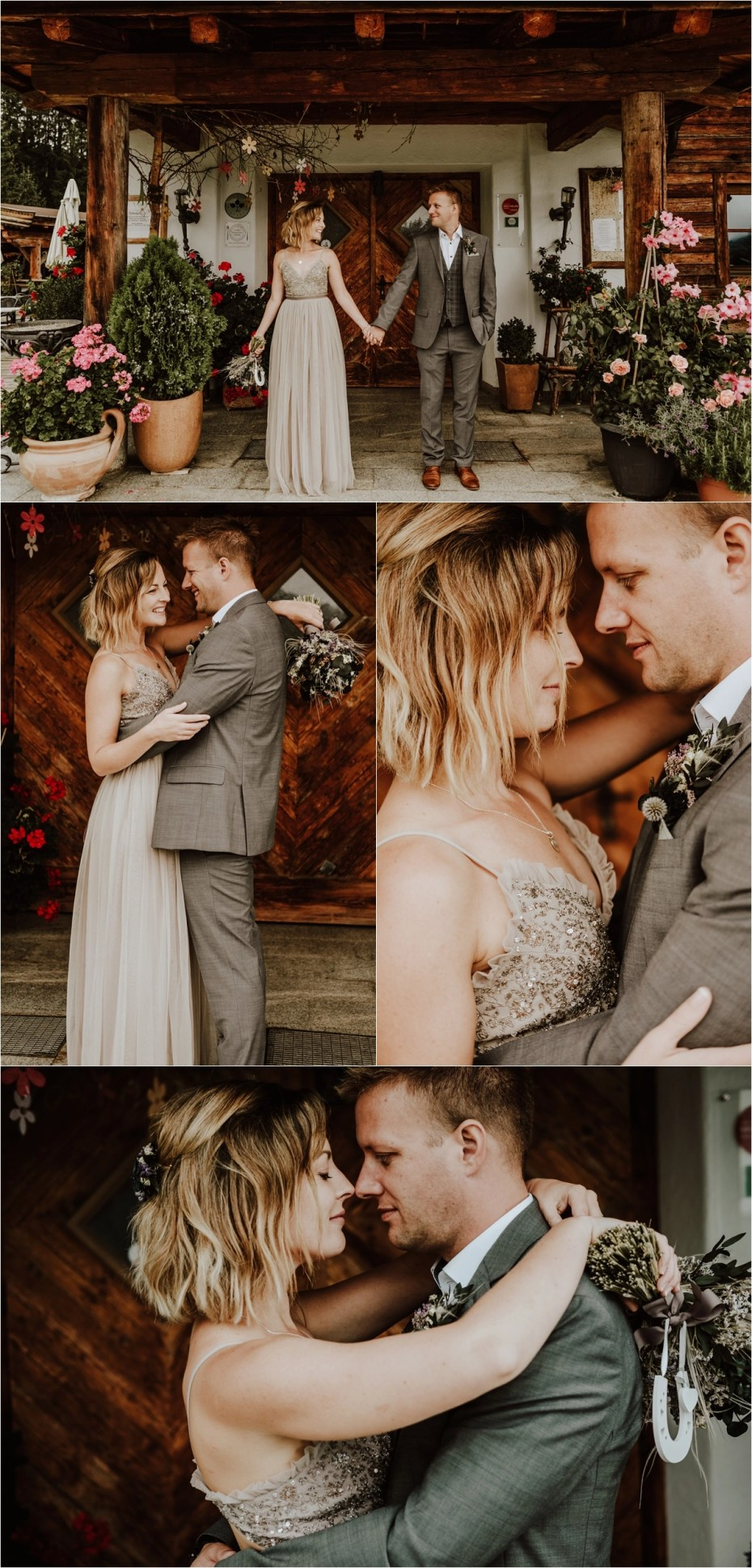 A mountain hut is the best location for this fun Austrian Alps wedding by Wild Connections Photography
