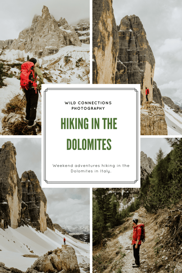 Weekend adventure - hiking in the Dolomites by Wild Connections Photography