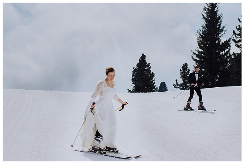 Winter Wedding Austria Photographer