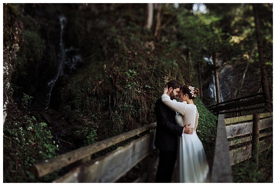 Waterfall Wedding Shoot