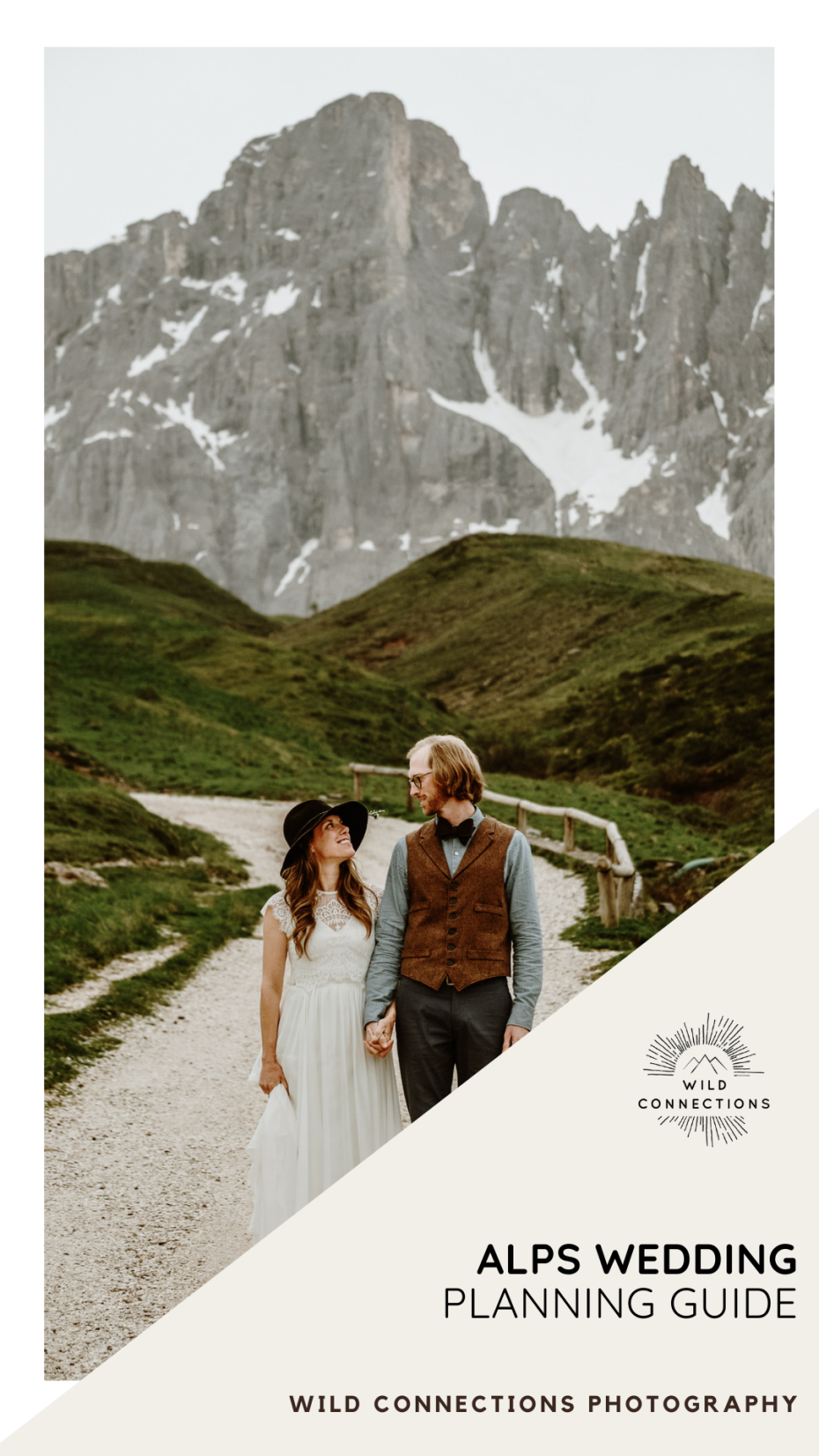 Alps wedding planning guide by Wild Connections Photography