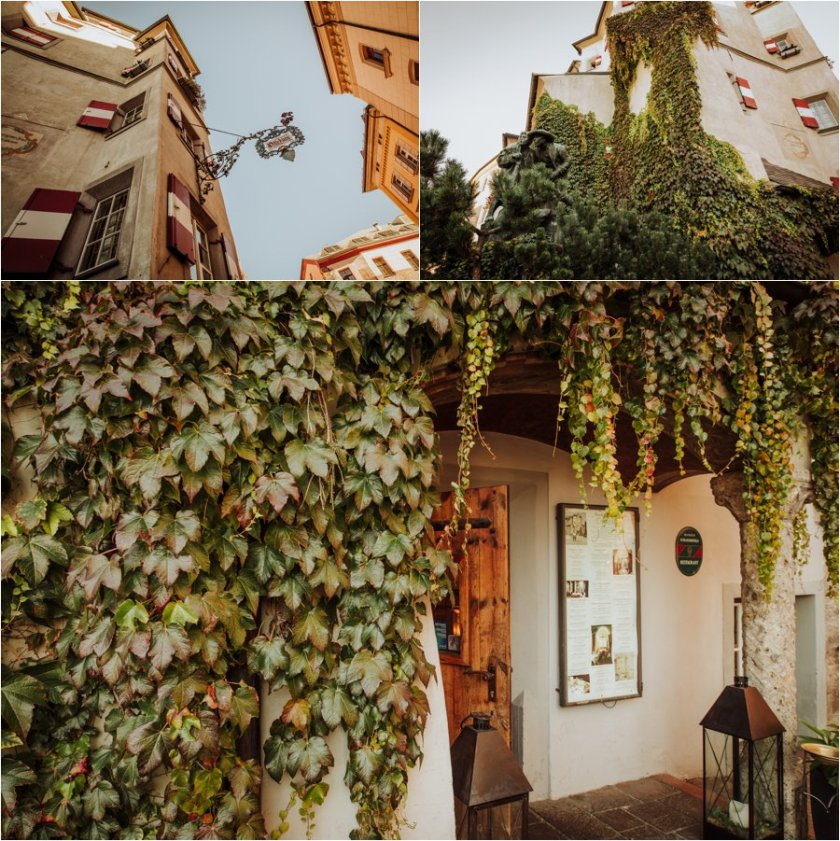 Ottoburg wedding reception venue in Innsbruck old town by Wild Connections Photography