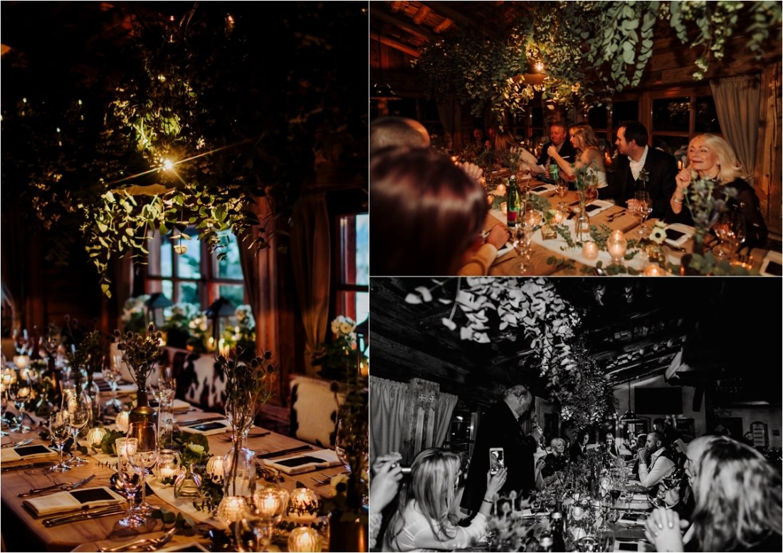 Indoor lighting examples to show how light affects wedding photos by Wild Connections Photography