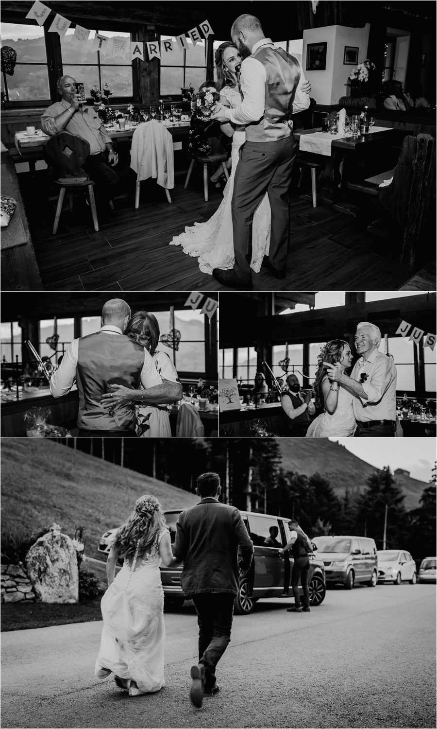 The first dance at the Kandleralm by Wild Connections Photography