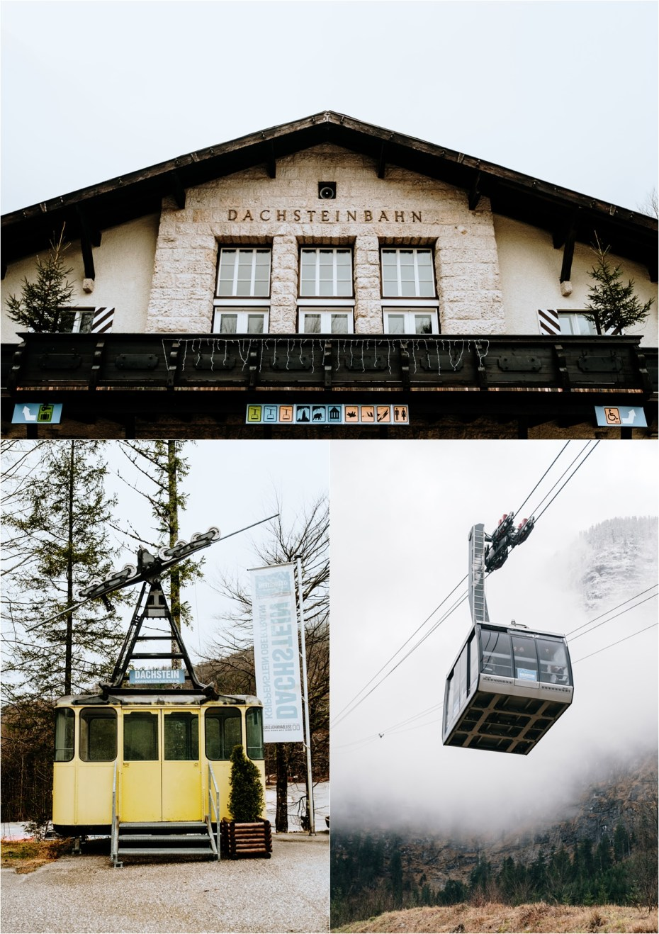 Dachsteinbahn cable car in Obertraun. Photos by Wild Connections Photography