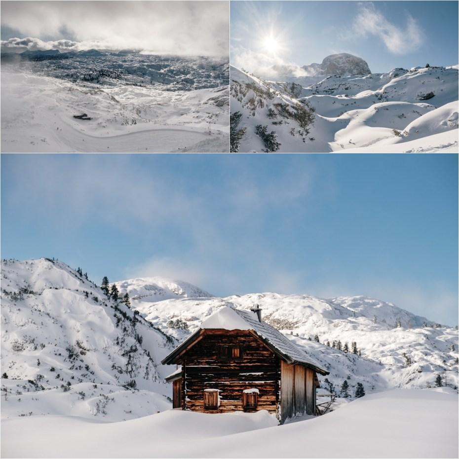 The Krippenstein mountain near Hallstatt. Photos by Wild Connections Photography