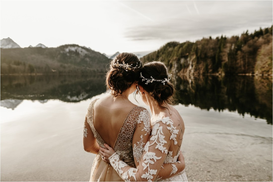 Bavarian Alps LGBT Wedding by Wild Connections Photography