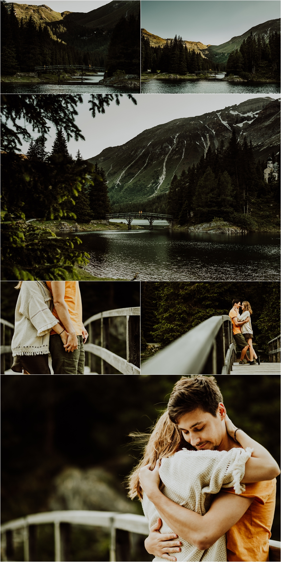 Lake Obernberg in Tirol adventure session by Wild Connections Photography