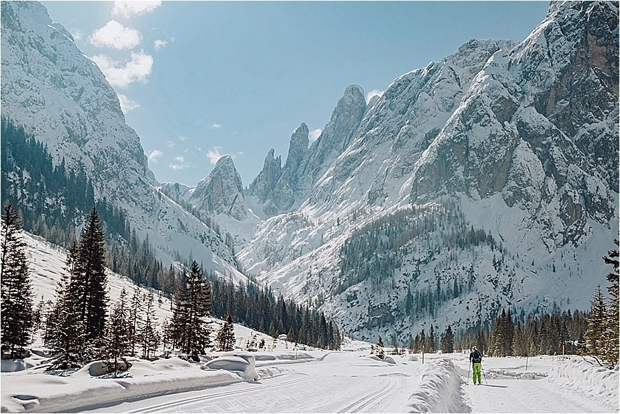 The Dolomites in Winter by Wild Connections Photography