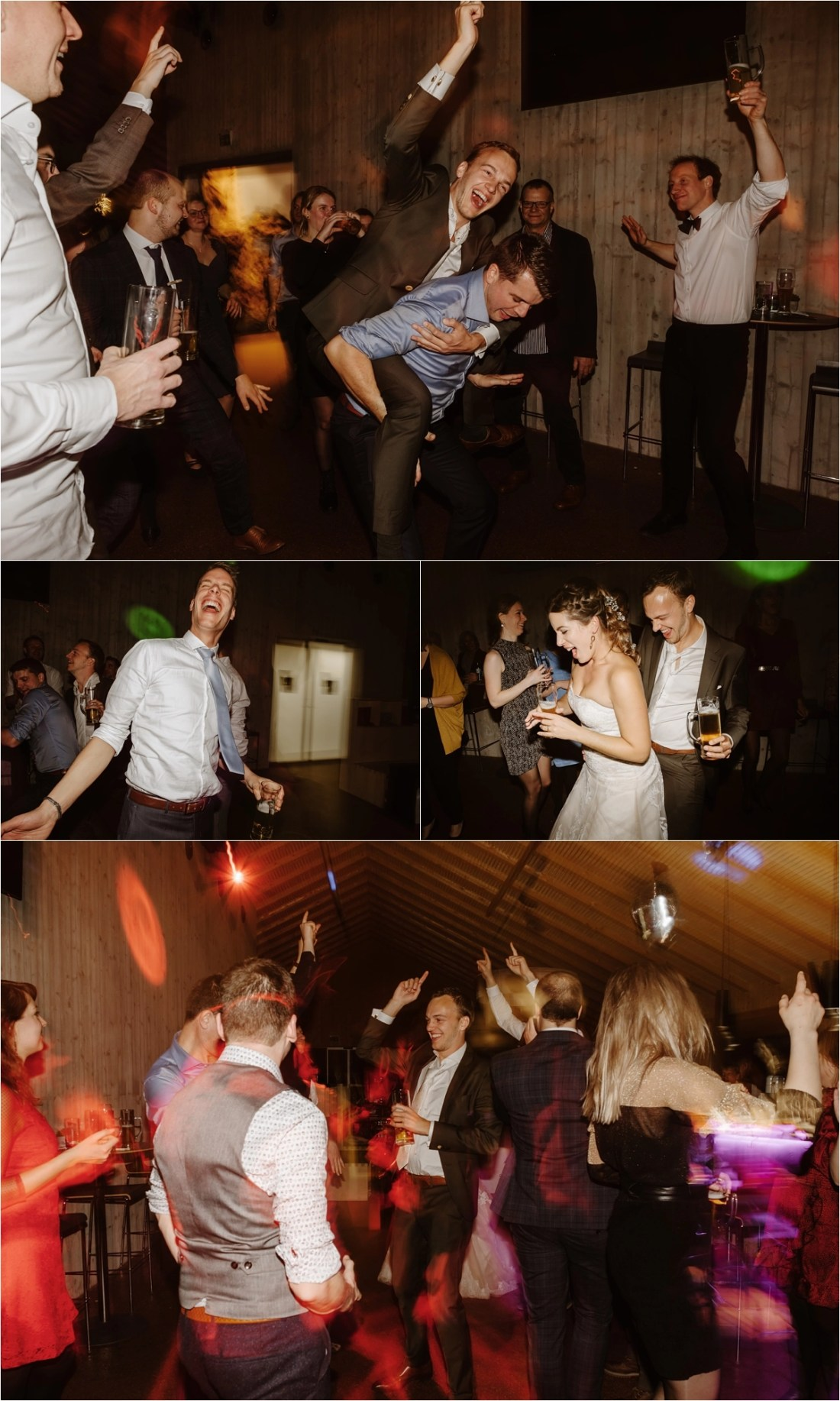 An Apres Ski inspired wedding reception at the Schmiedhof alm in Austria by Wild Connections Photography