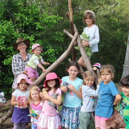 The last bubs in the bush had a few older kids...and people from Sydney, Newcastle and Alice Springs. Amazing!!