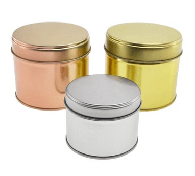 Metal Essential Oil Tins