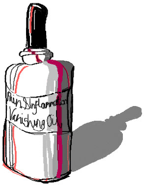 Pain & Inflammation Vanishing Oil
