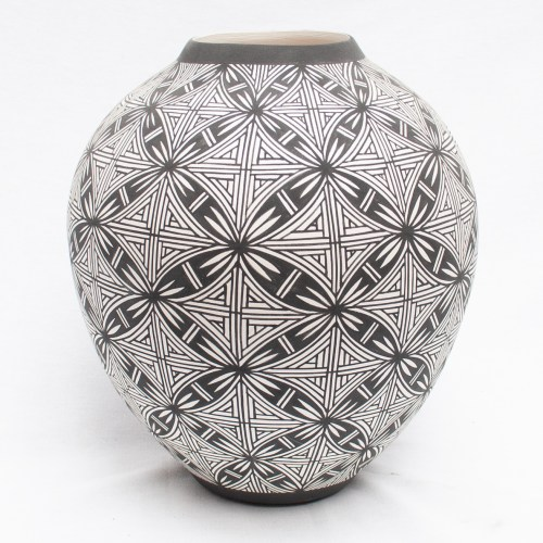 Large Native Acoma Pottery
