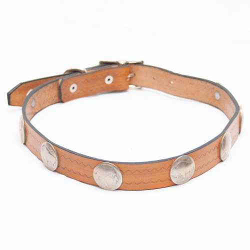 Native Leather Dog Collar