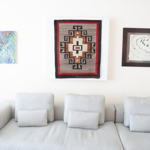 1940's Kagletoh Navajo Weaving Wall Hanging