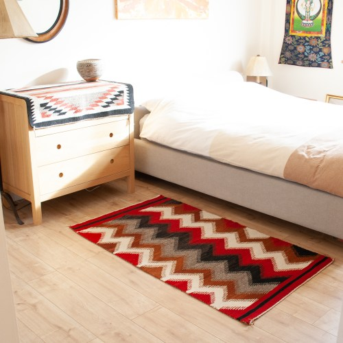 1950's Multicolour Wool Rug