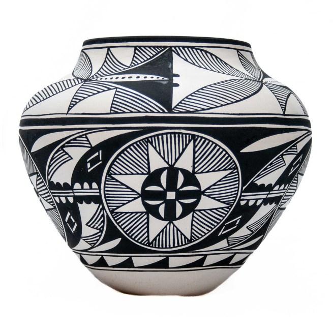 Keith Joe Monochrome Acoma Pottery