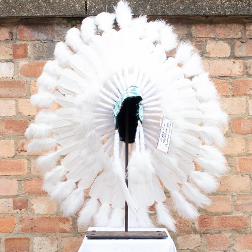 White Feather Headdress